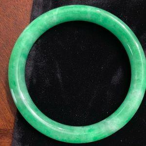 Jadeite large bracelet